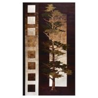 "Mighty Pines 43""Panel Brown"