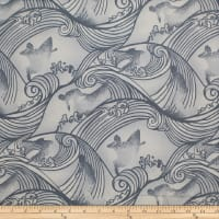 Trans-Pacific Textiles Endless Surfer White