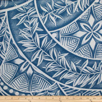 Trans-Pacific Textiles Polynesian Tattoo Denim