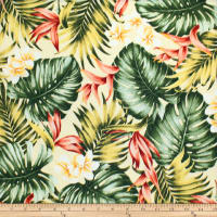 Trans-Pacific Textiles Tropical Hawaiian Breeze Beige