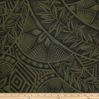 Trans-Pacific Textiles Polynesian Tattoo New Green