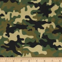 Michael Miller Minky Rat Race Little Camo Olive