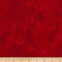 QT Fabrics Basics Quilting Temptations Curly Cue Blender Red