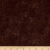 QT Fabrics Basics Quilting Temptations Curly Cue Blender Root Beer
