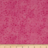 QT Fabrics Basics Quilting Temptations Curly Cue Blender Bubblegum