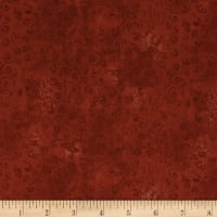 QT Fabrics Basics Quilting Temptations Curly Cue Blender Terracotta