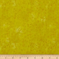 QT Fabrics Basics Quilting Temptations Curly Cue Blender Lemon Sorbet