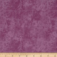 QT Fabrics Basics Quilting Temptations Curly Cue Blender Plum/Pink