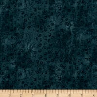 QT Fabrics Basics Quilting Temptations Curly Cue Blender Slate Blue