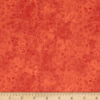 QT Fabrics Basics Quilting Temptations Curly Cue Blender Melon