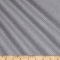 QT Fabrics Basics Quilting Illusions Dots Blender Grey On Grey