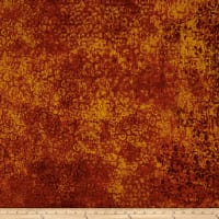 QT Fabrics Basics Scrollscape Blender Burnt Orange