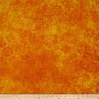 QT Fabrics Basics Scrollscape Blender Orange