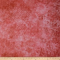 QT Fabrics Basics Scrollscape Blender Tea Rose