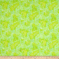 QT Fabrics Basics Ombre Scroll Blender Lime
