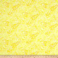 QT Fabrics Basics Ombre Scroll Blender Lemon
