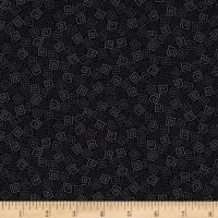 QT Fabrics Basics Harmony Cotton Squares Blender Black