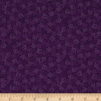 QT Fabrics Basics Harmony Cotton Squares Blender Grape