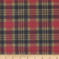 Printed Flannel Gabriel Plaid Multi