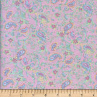 Printed Flannel Pritti Pink