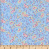 Printed Flannel Pritti Blue
