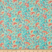 Printed Flannel Pritti Mint