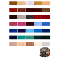 "QT Fabrics Color Blends 34 Pcs. 2-1/2"" Strips Multi"