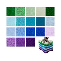 QT Fabrics Harmony 18 Pcs. Fat Quarter Bundle Multi