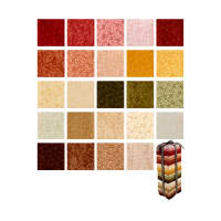QT Fabrics Harmony Flannel 24 Pcs. Fat Quarter Bundle Multi