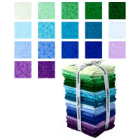 QT Fabrics Harmony - Flannel Fat Quarter 18 Pcs Bundle Multi