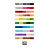 "QT Fabrics Quilting Temptations 50 Pcs. 2-1/2"" Strips Multi"