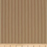 Wilmington Fall Frolic Simple Stripe Brown