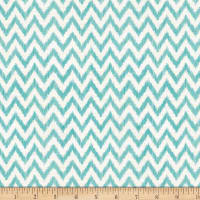 Wilmington To The Moon and Back Chevron White/Aqua