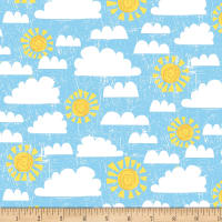 Wilmington Dandy Dinos Crackle Sky Light Blue