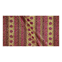 Supreme Osikani African Print Broadcloth 6 Yards Metallic Pink/Tan