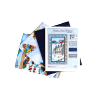 "Wilmington Bringing Home Christmas Wall Quilt 32""X 51"" Multi - Exclusive"