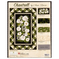 "Wilmington Chantrell 35"" x 55"" Wall Quilt Kit Multi"