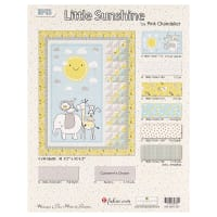 "Wilmington Little Sunshine 41.5"" x 52.5"" Crib Quilt Kit Multi"