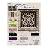 "Wilmington Hydrangea Dreams 85"" Quilt Kit Multi"