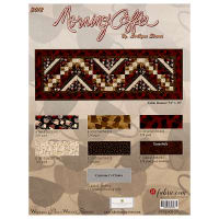 "Wilmington Morning Coffee 54"" x 18"" Table Runner Kit Multi"