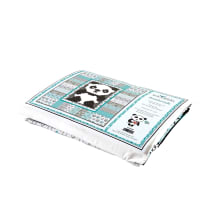 "Riley Blake Panda Love 58"" Quilt Kit Multi"
