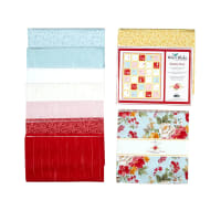 Riley Blake Shiplap Ahoy in Farmhouse Floral Quilt Kit
