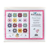 Riley Blake Flower Power Quilt Kit Wild Bouquet