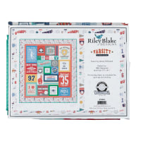 Riley Blake Varsity Quilt Kit Volleyball