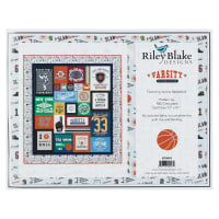 Riley Blake Varsity Quilt Kit Basketball
