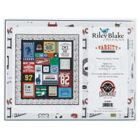 Riley Blake Varsity Quilt Kit Hockey