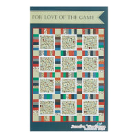 Riley Blake  Varsity For the Love of Game Day Basketball Quilt Kit