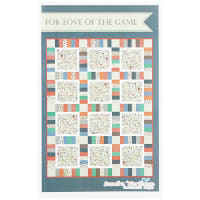 Riley Blake  Varsity For the Love of Game Day Football Quilt Kit