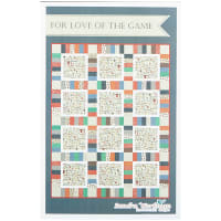 Riley Blake  Varsity For the Love of Game Day Hockey Quilt Kit
