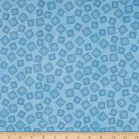 Riverwoods Quilt Trails Abstract Blue